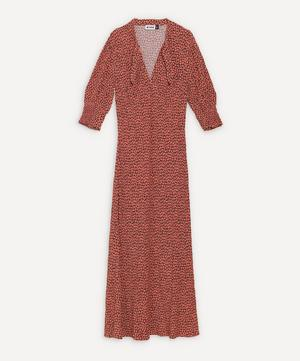 Isabella Tie-Neck Midi-Dress