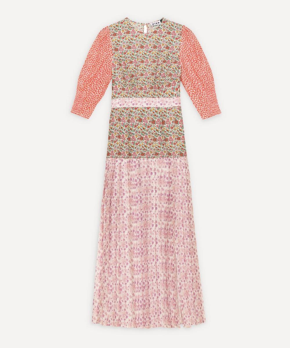 RIXO - Cozi Pleated Dress