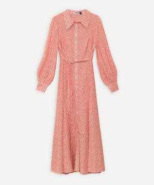 Maddison Button-Down Maxi Shirt-Dress