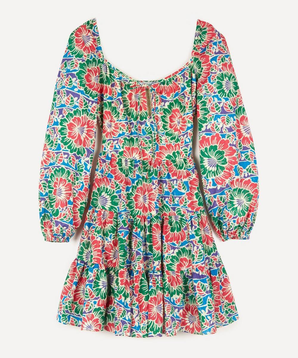 RIXO - Roxy Long-Sleeve Mini-Dress