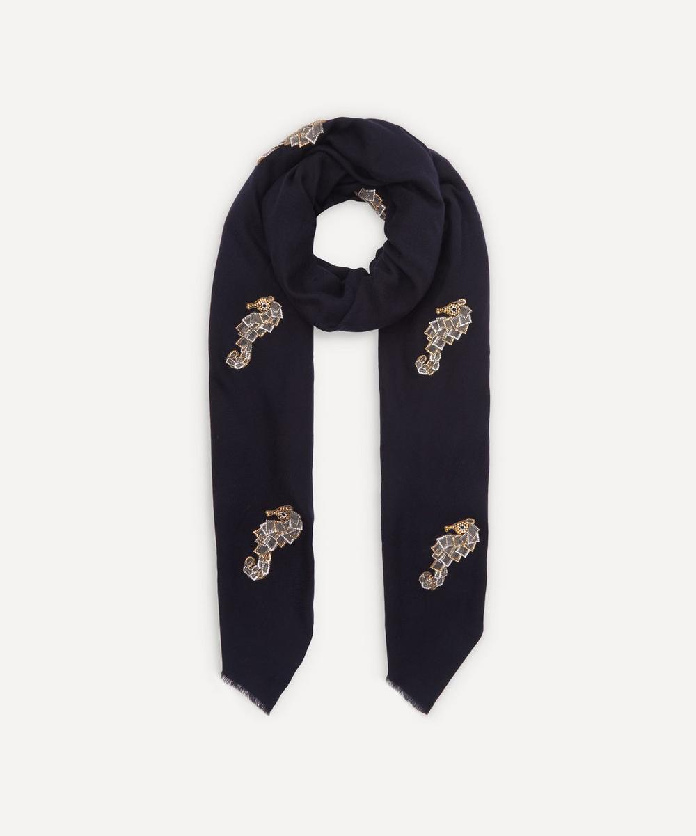 Janavi India - Seahorse Merino Wool Scarf
