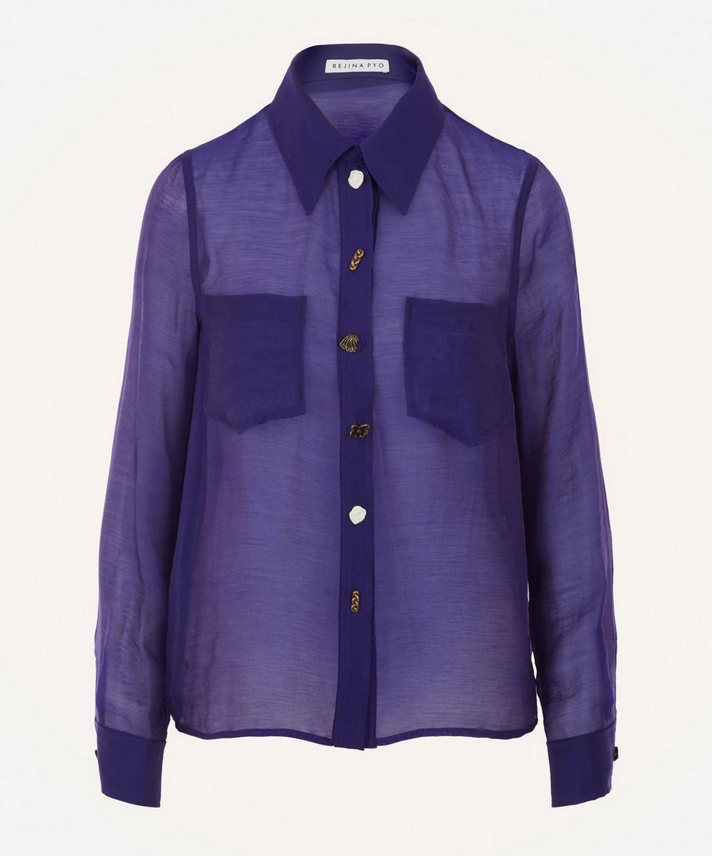 Rejina Pyo - Remi Sheer Shirt