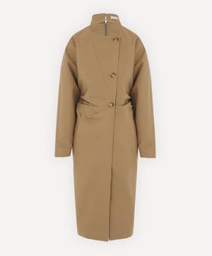 Lea Cotton Exaggerated Sleeve Dress