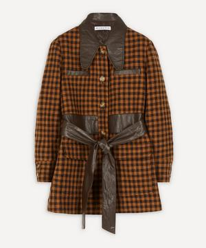 Felix Check Wool-Blend Jacket