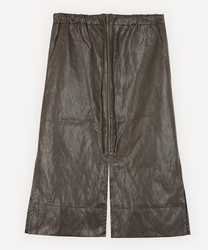 Lina Faux-Leather Pencil Skirt