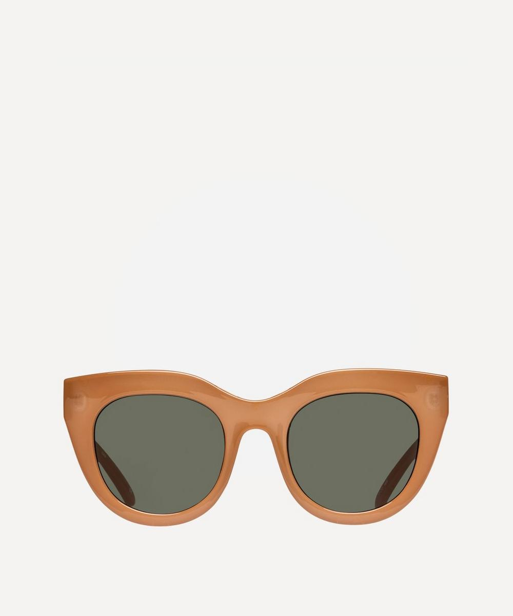 Le Specs - Air Heart Oversized Sunglasses