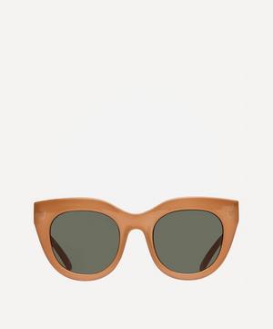 Air Heart Oversized Sunglasses