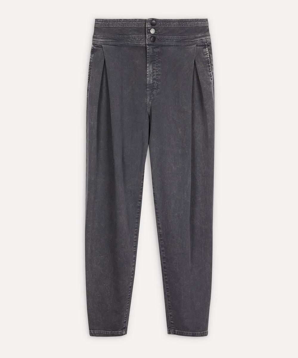 J Brand - Carey High-Rise Tapered Jeans