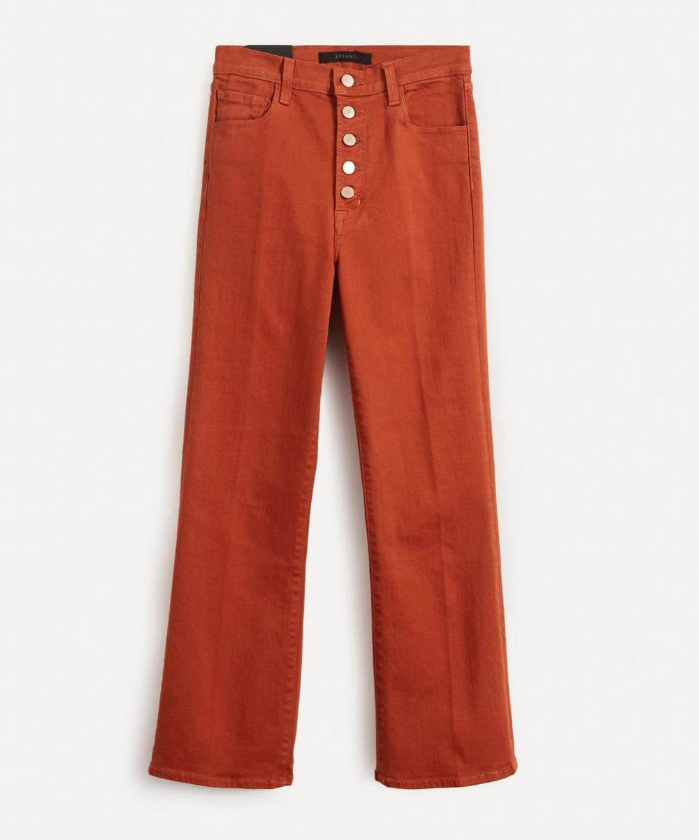J Brand - Lillie High-Rise Flare Jeans