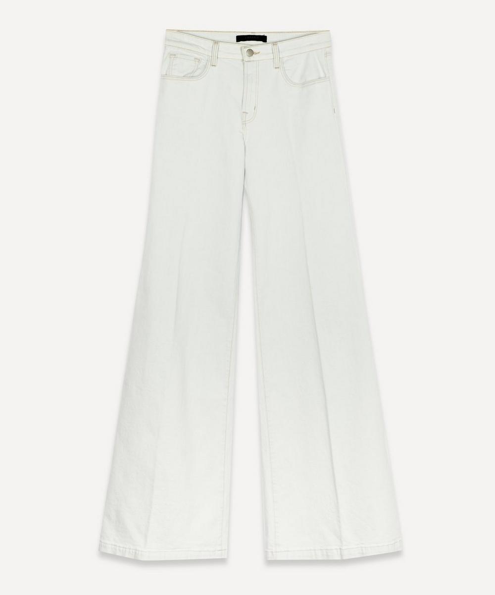 J Brand - Evytte Mid-Rise Wide-Leg Jeans