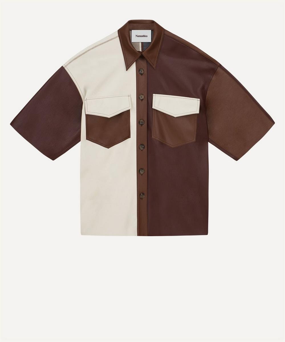 Nanushka - Roque Oversized Short-Sleeve Shirt