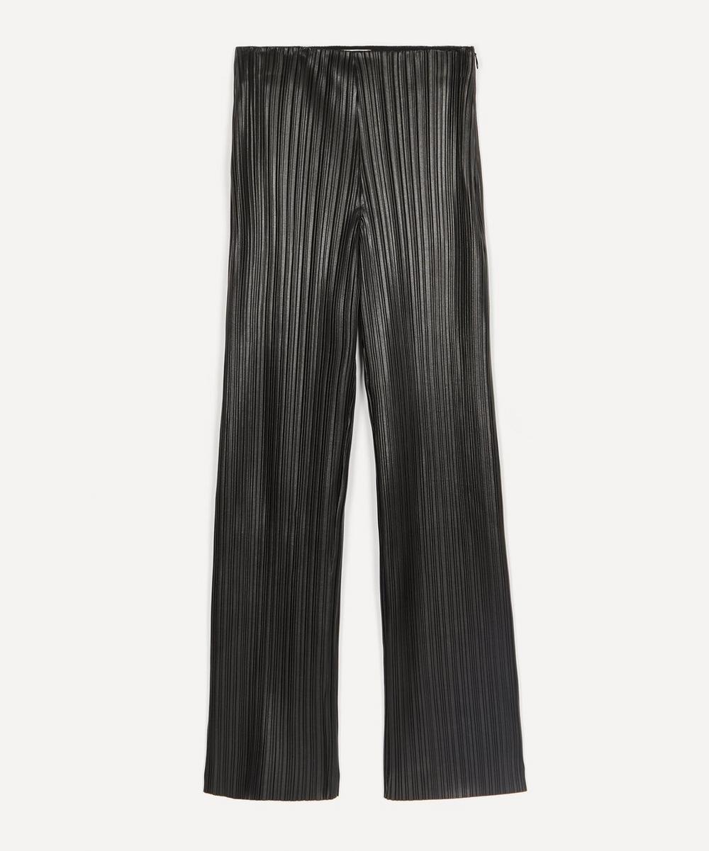 Nanushka - Char Straight-Leg Pleated Trousers