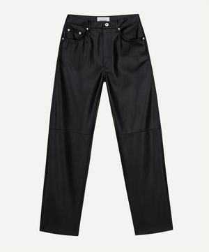 Vinni Five-Pocket Vegan-Leather Trousers