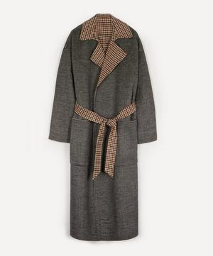 Alamo Wool-Silk Robe Coat