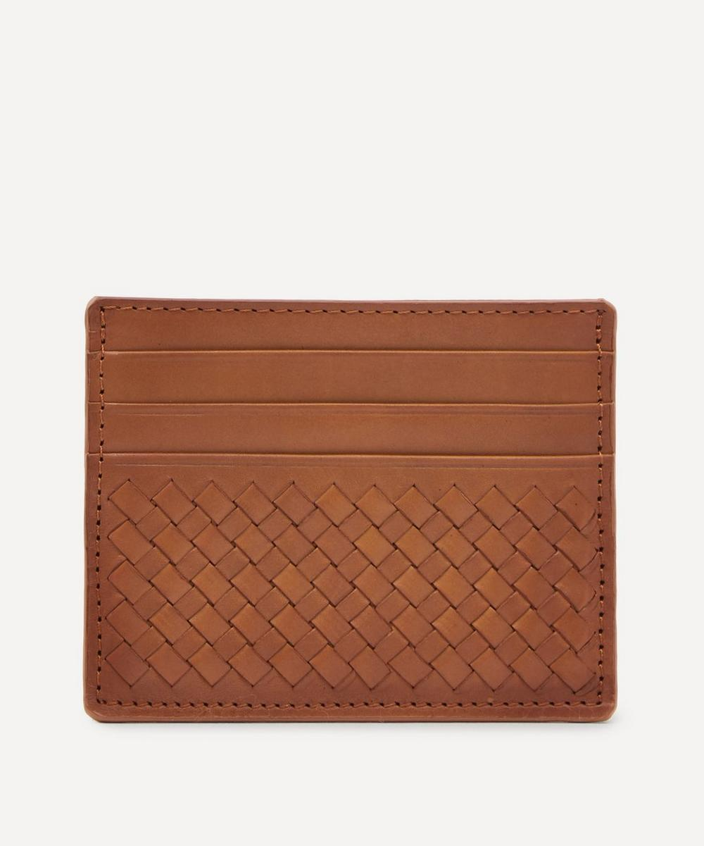 Dragon Diffusion - Interlaced Leather Card Holder