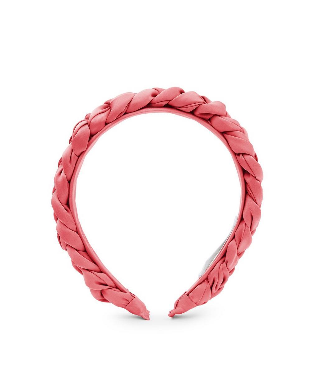 THE UNIFORM - Plaited Silk Headband
