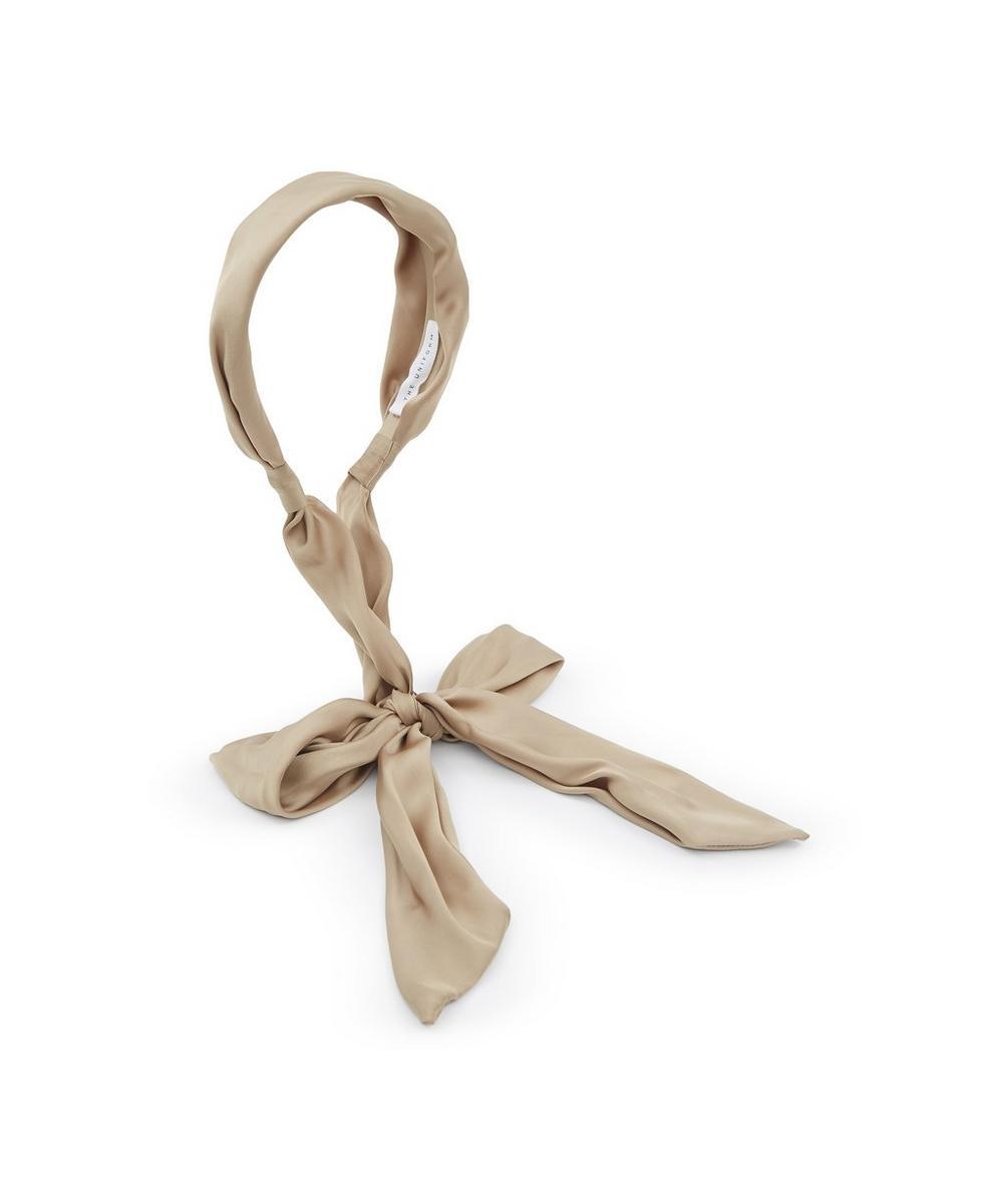 THE UNIFORM - Silk Scarf Headband