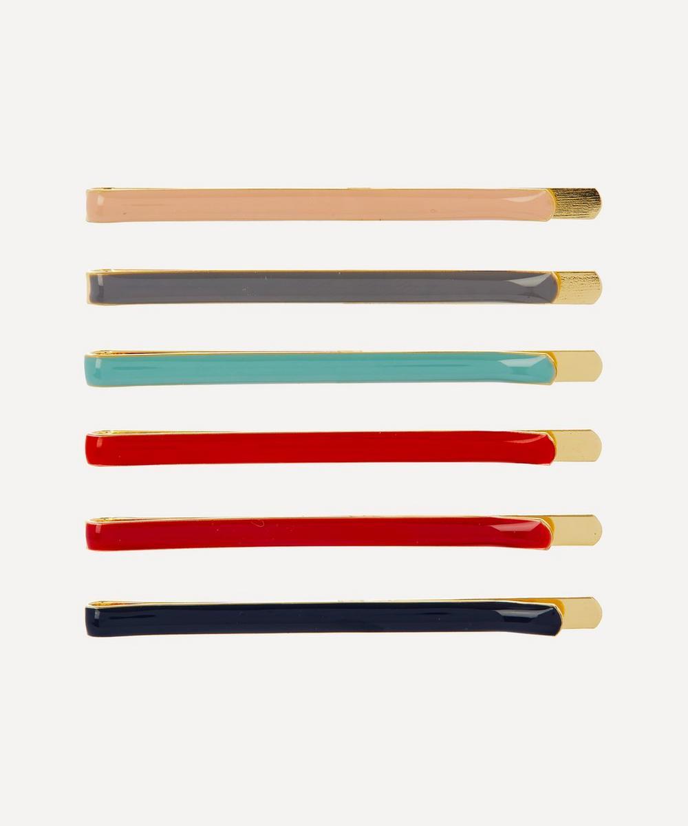 THE UNIFORM - Enamel Hair Pins