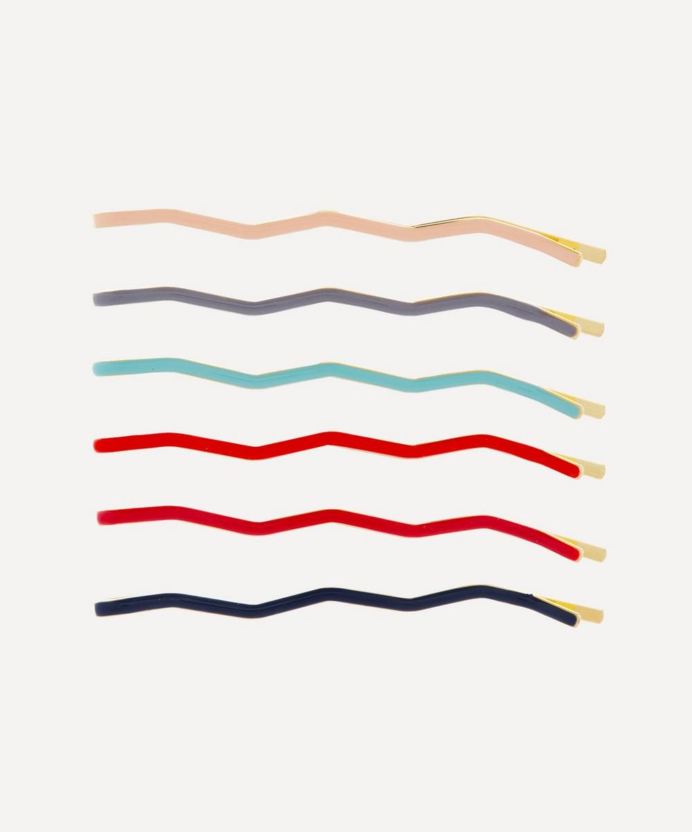 THE UNIFORM - Zig-Zag Enamel Hair Pins