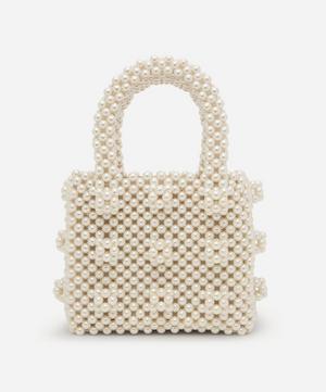 Mini Antonia Faux Pearl Beaded Handbag