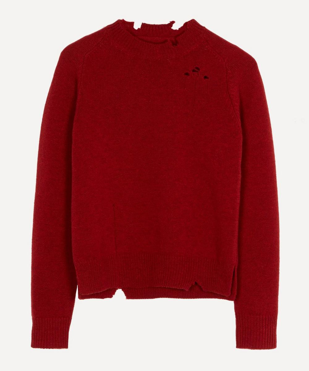 Maison Margiela - Destroyed Wool Jumper