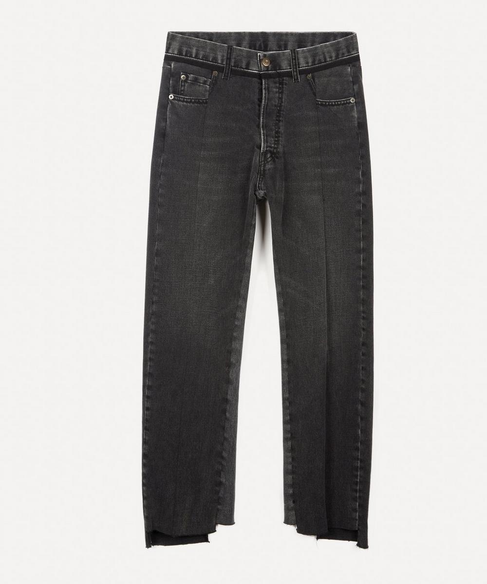 Maison Margiela - Panelled Straight-Leg Jeans