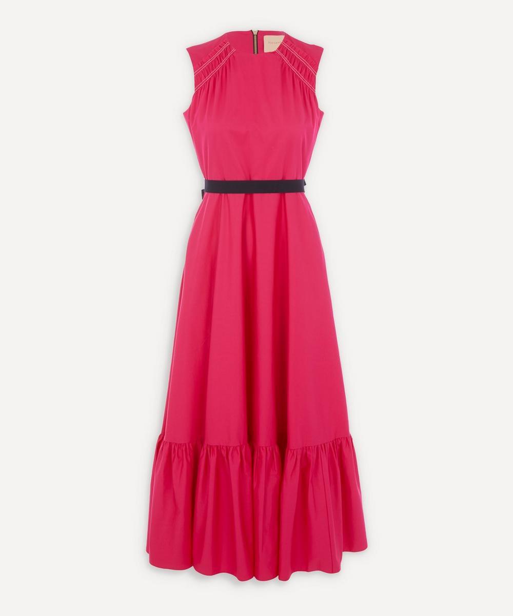 Roksanda - Blaise Sleeveless Cotton-Poplin Dress