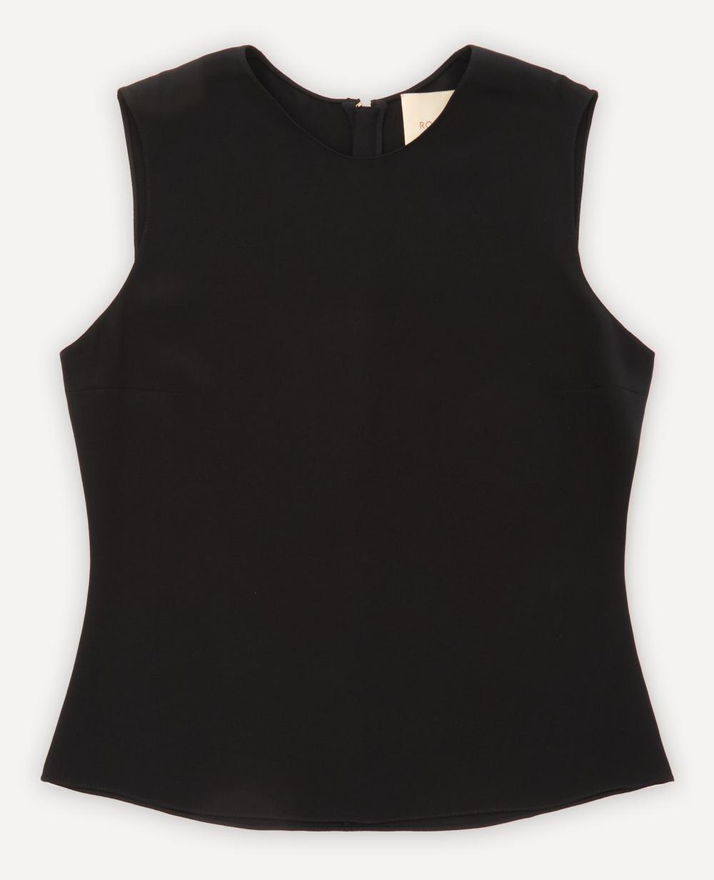 Roksanda - Sleeveless Silk Top