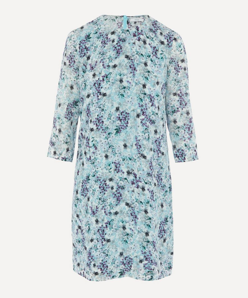 Erdem - Meadow Silk Shift Mini-Dress