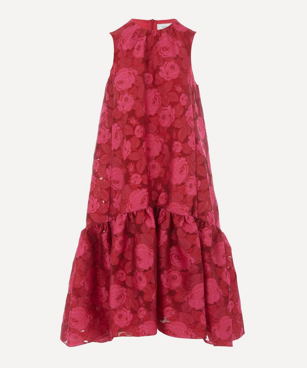 Erdem - Tiered Rose Print Dress