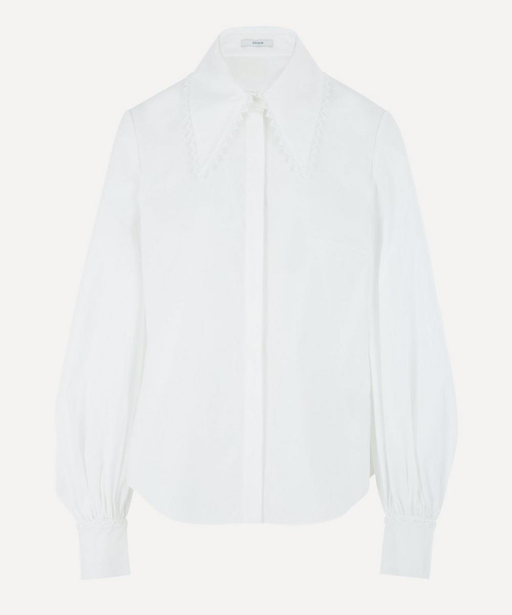 Erdem - Long-Sleeve Cotton-Poplin Shirt