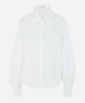 Long-Sleeve Cotton-Poplin Shirt