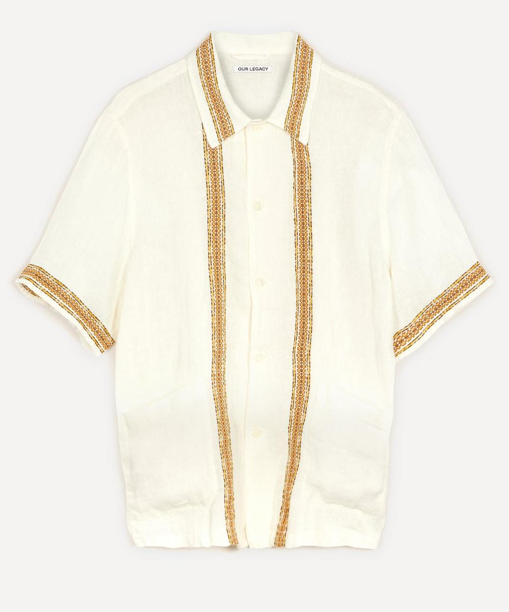 Our Legacy - Elder Embroidered Linen Shirt