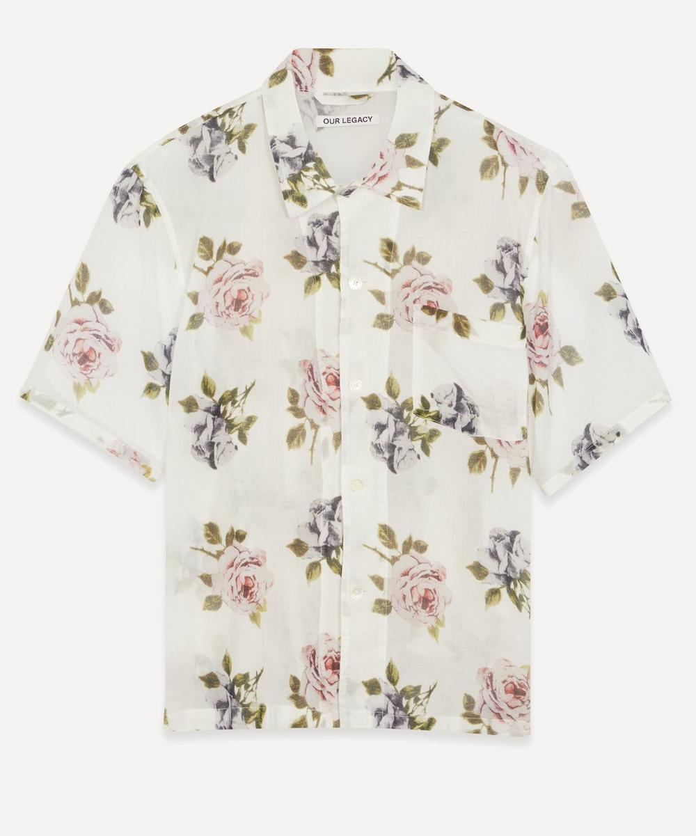 Our Legacy - Box Short-Sleeve Floral Shirt