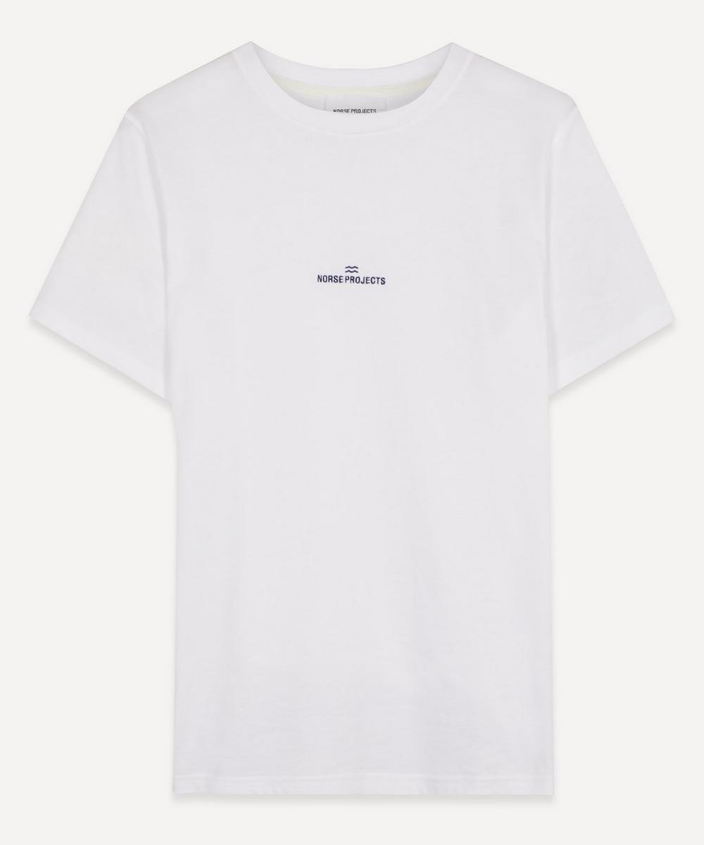 Norse Projects - Niels Wave Logo T-shirt