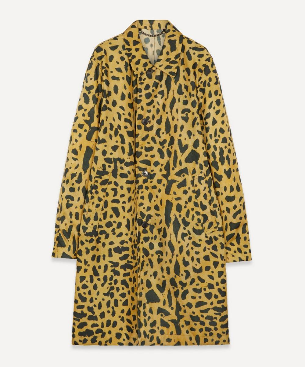 Dries Van Noten - Leopard Print Shell Coat