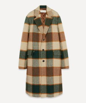 Giant Check Overcoat