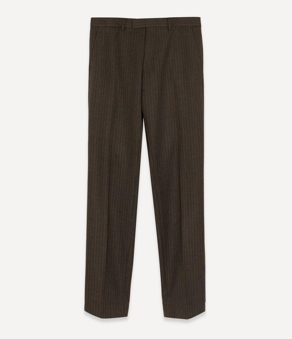Dries Van Noten - Peeler Pinstripe Wool Trousers