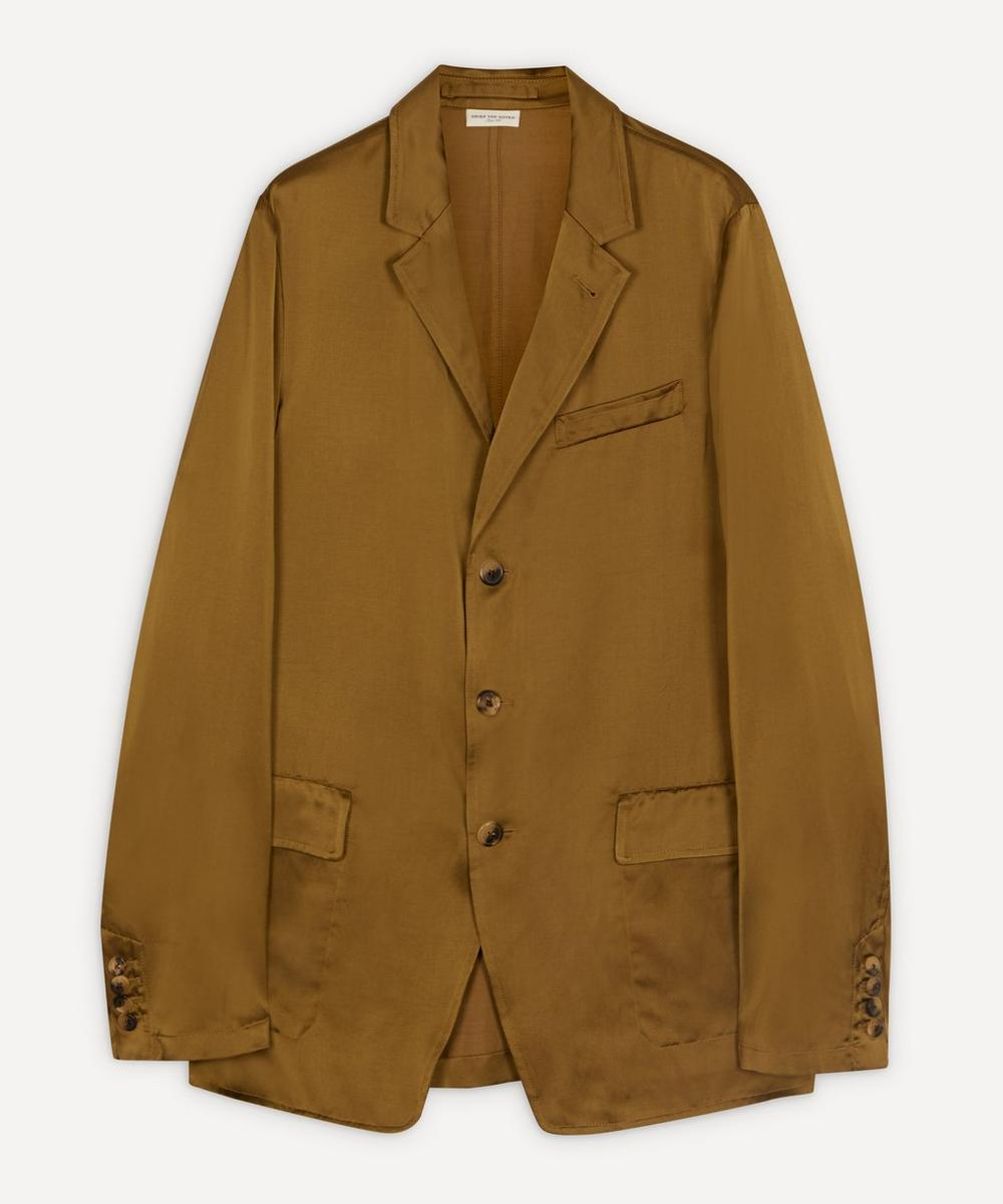 Dries Van Noten - Tailored Satin Jacket