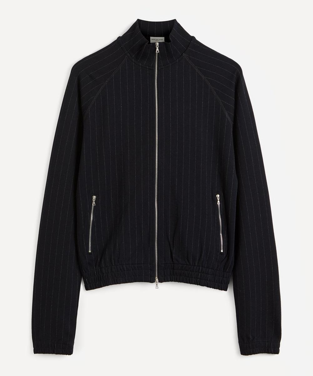 Dries Van Noten - Pinstripe Tracksuit Top