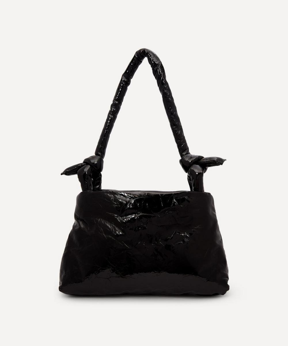 KASSL Editions - Bag Lady Lacquer Leather Shoulder Bag