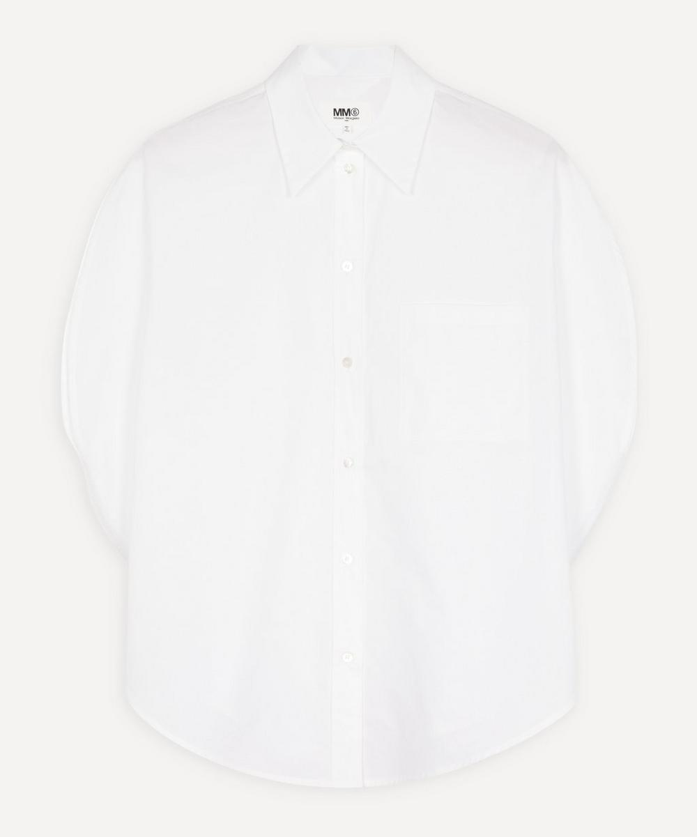 MM6 Maison Margiela - Asymmetric Circle Shirt