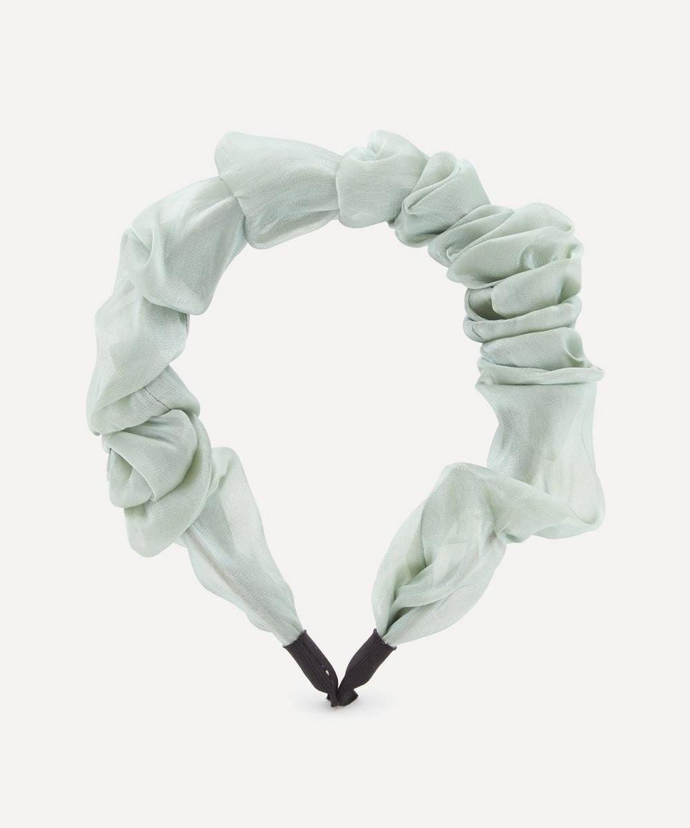 Valet - Organza Ruffled Headband