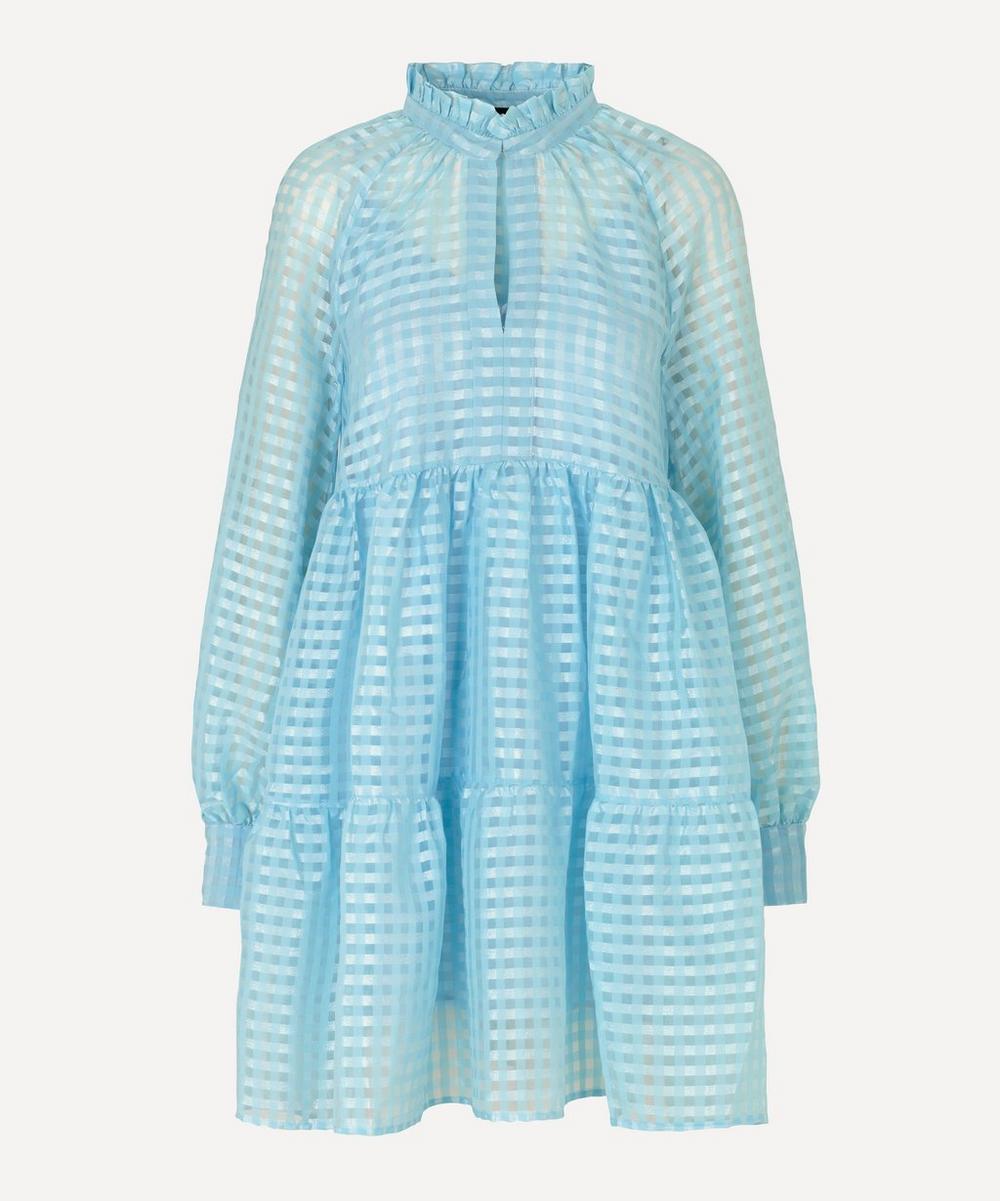 Stine Goya - Jasmine Gingham Tiered Midi Dress