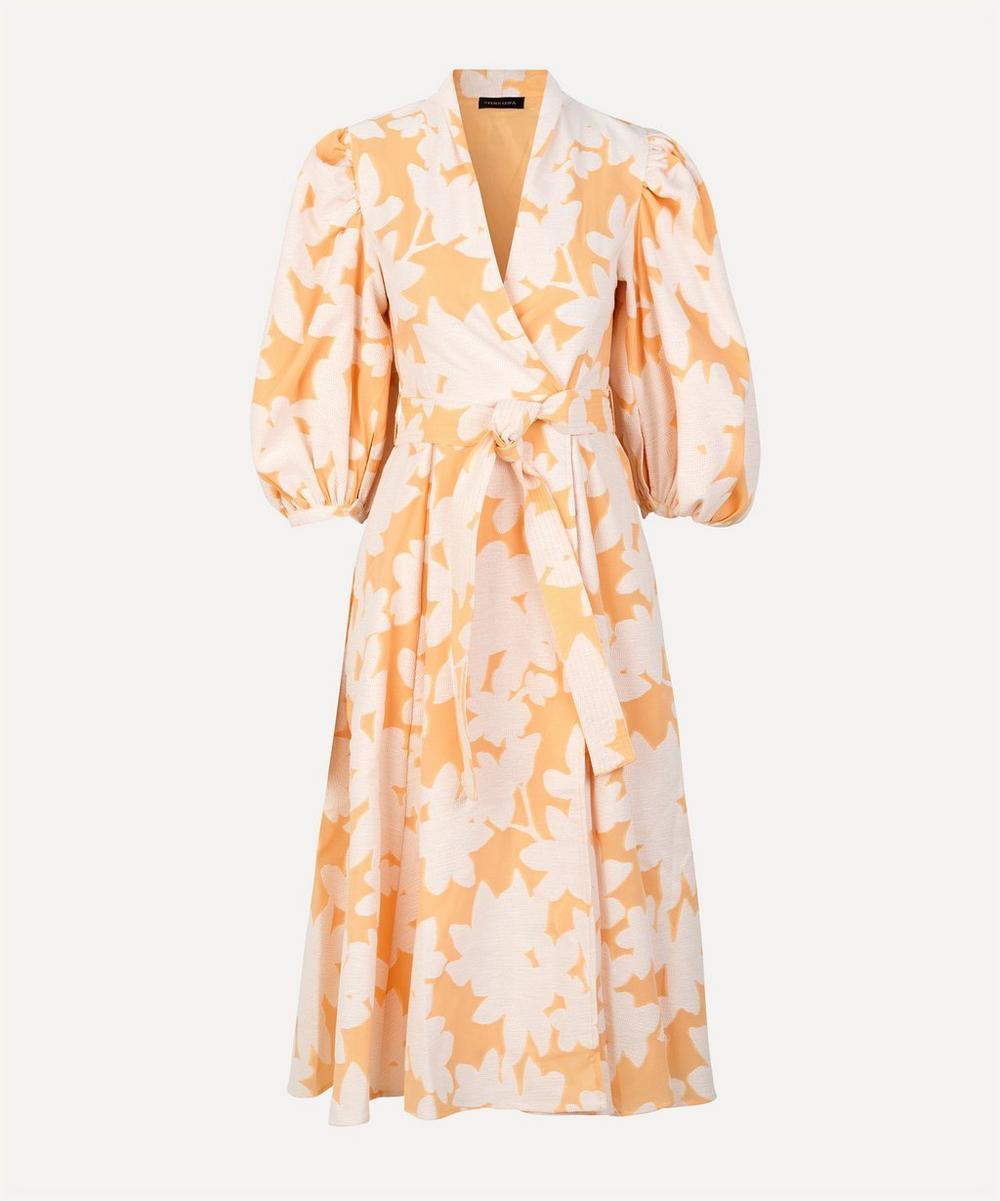 Stine Goya - Belinda Flora Wrap Midi Dress