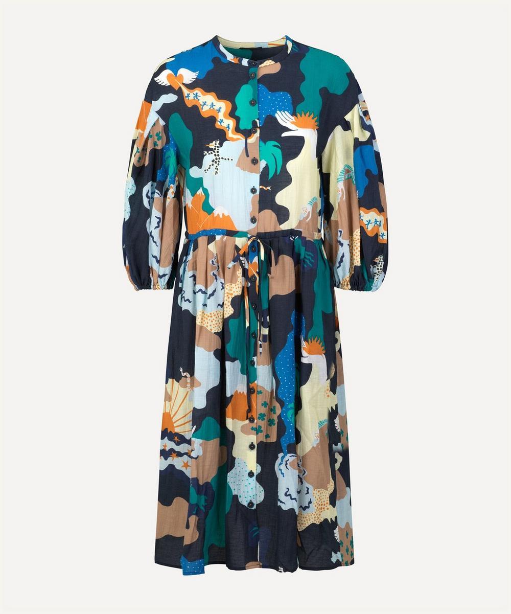Stine Goya - India Landscape Midi Dress