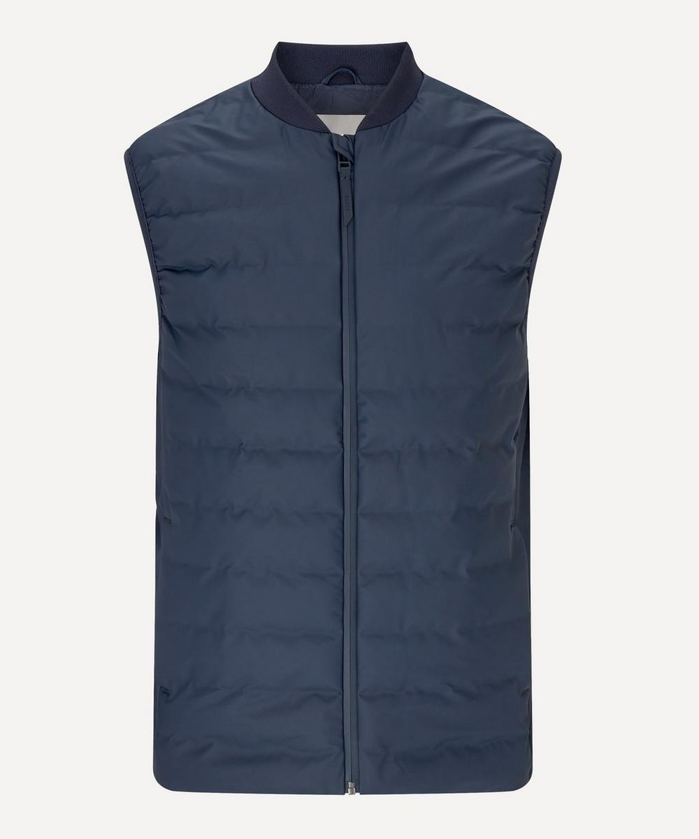 RAINS - Zip-Up Quilted Gilet