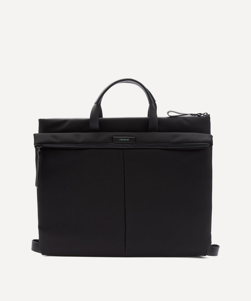 côte&ciel - Orga Sleek Nylon Briefcase