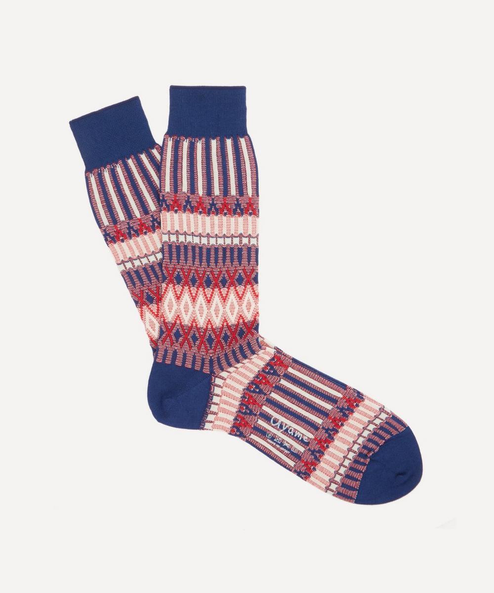 Ayame - Basket Lunch Union Jack Socks