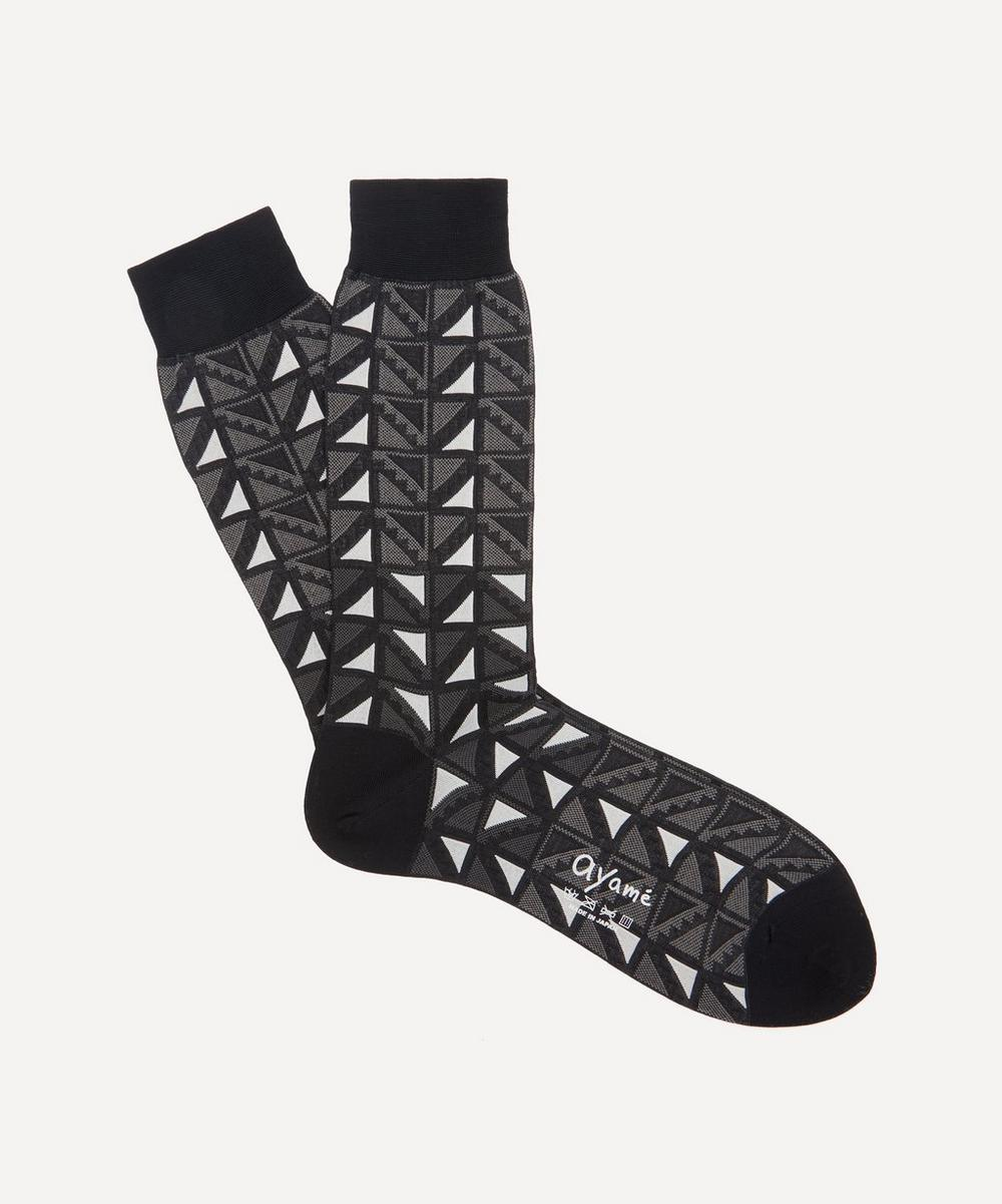 Ayame - C53 Flag Socks